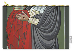St Catherine Of Siena- Guardian Of The Papacy 288 Carry-all Pouch