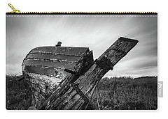 St Cyrus Wreck Carry-all Pouch by Dave Bowman