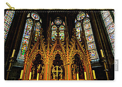 Carry-all Pouch featuring the photograph St. Elizabeth Church by David Morefield
