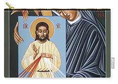 St Faustina Kowalska Apostle Of Divine Mercy 094 Carry-all Pouch
