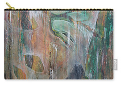Carry-all Pouch featuring the painting St Francis 4 by Jocelyn Friis