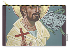 Carry-all Pouch featuring the painting St Genisius Patron Of Actors 279 by William Hart McNichols