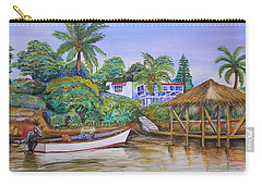 St. George Harbor Carry-all Pouch by Patricia Piffath
