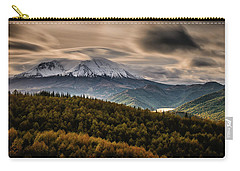 Carry-all Pouch featuring the photograph St. Helens Wrath by Dan Mihai