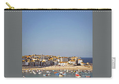 Carry-all Pouch featuring the photograph St Ives Harbour by Lyn Randle