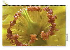 St Johns Wort Flower Centre Carry-all Pouch