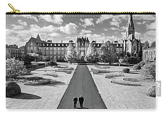 Carry-all Pouch featuring the photograph St Joseph's Square At Maynooth University - Kildare, Ireland by Barry O Carroll