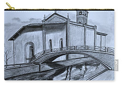 St. Jules Cathedral  Carry-all Pouch