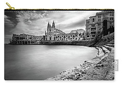 Carry-all Pouch featuring the photograph St. Julian's Bay by Okan YILMAZ