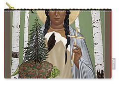 St. Kateri Tekakwitha Of The Iroquois - Rlktk Carry-all Pouch