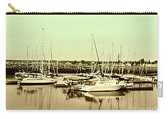St. Lawrence Seaway Marina Carry-all Pouch by Susan Lafleur