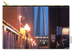 Carry-all Pouch featuring the photograph St. Louis Arch by Steve Karol