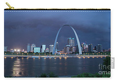 St Louis Before The Storm Carry-all Pouch by Garry McMichael