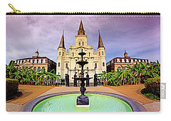 St. Louis Cathedral - New Orleans - Louisiana Carry-all Pouch