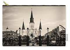 St. Louis Cathedral Sepia Carry-all Pouch