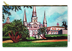 St. Louis Cathedral New Orleans Art Carry-all Pouch