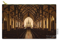 St. Louis Catholic Church Of Castroville Texas Carry-all Pouch
