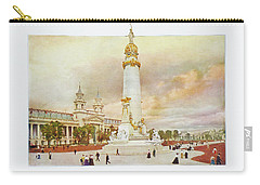 St. Louis World's Fair Louisiana Purchase Monument Carry-all Pouch