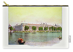 St. Louis World's Fair Palace Of Education Carry-all Pouch by Irek Szelag