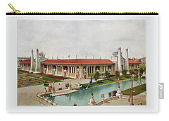 St. Louis World's Fair Palace Of Mines And Metallurgy Carry-all Pouch by Irek Szelag