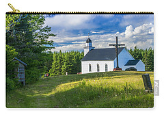 St. Margaret's Of Scotland Carry-all Pouch by Ken Morris