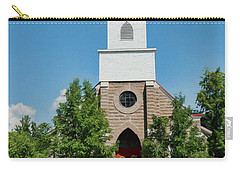 Carry-all Pouch featuring the photograph St. Mark's Episcopal Church by Trey Foerster