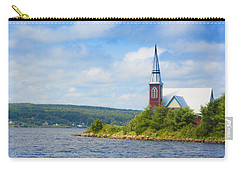 St Marks In Middle Lahave Nova Scotia Carry-all Pouch by Ken Morris