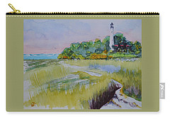 St. Marks Lighthouse Beachfront Carry-all Pouch