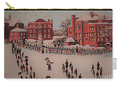 Carry-all Pouch featuring the painting St Mary's First Friday Mass by Rita Brown