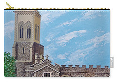 St. Mary's In England Carry-all Pouch by Katherine Young-Beck