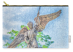 St Michael The Archangel Carry-all Pouch