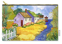 St Michael's Cottages Carry-all Pouch