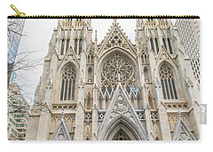 St. Patrick Cathedral In New York Carry-all Pouch