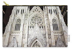 St Patrick Cathedral Nyc Morning  Carry-all Pouch