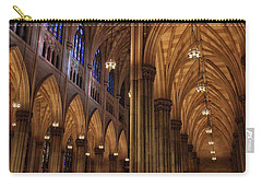 Carry-all Pouch featuring the photograph St. Patrick's Arches by Jessica Jenney