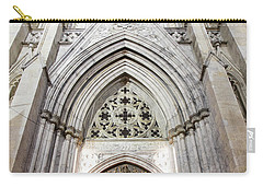 St Patrick's Cathedral Door  Carry-all Pouch