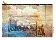 Carry-all Pouch featuring the photograph St. Paul Capital Building by Susan Stone