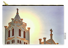 Carry-all Pouch featuring the photograph St. Paul's Episcopal Church - Key West by Bob Slitzan