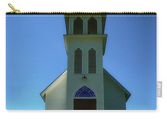 Carry-all Pouch featuring the photograph St. Peter's Church 2 by Joseph Hollingsworth