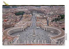 St. Peter's Square Carry-all Pouch by Sergey Simanovsky