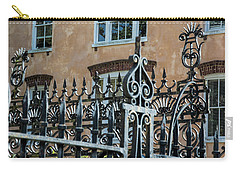 St. Philip's Gate Carry-all Pouch by Ed Waldrop