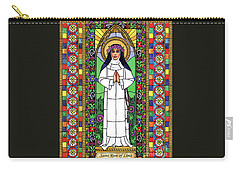St. Rose Of Lima Carry-all Pouch