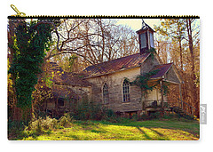 Carry-all Pouch featuring the photograph St Simon Church Peak Sc by Lisa Wooten