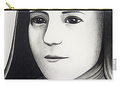 St. Therese Of Lisieux Carry-all Pouch