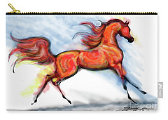 Staceys Arabian Horse Carry-all Pouch
