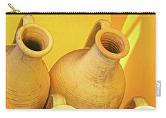 Stacked Yellow Jars Carry-all Pouch