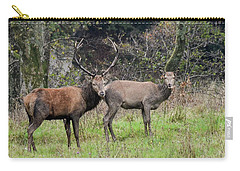 Stag And Doe  Carry-all Pouch