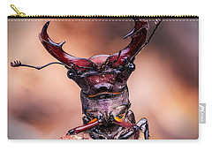 Stag Beetle Stare Down Carry-all Pouch