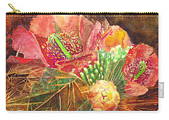 Staghorn In Bloom Carry-all Pouch