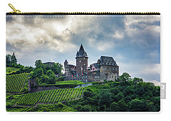 Carry-all Pouch featuring the photograph Stahleck Castle by David Morefield